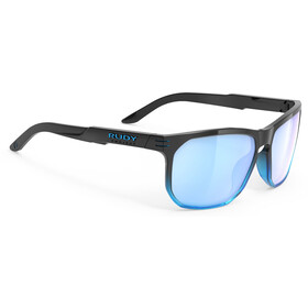 Rudy Project Soundrise Brille black fade crystal azur gloss/multilaser ice